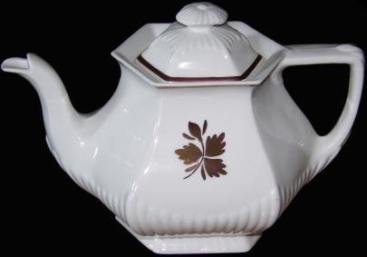 Adams - Empress Shape - Tea Leaf - Teapot