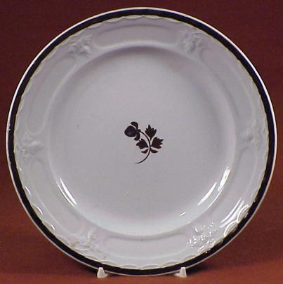 William Adams - Vintage Shape - Tea Leaf - Plate