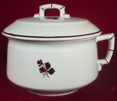 Alfred Meakin - Bamboo - Tea Leaf - Chamber Pot