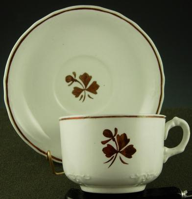 Alfred Meakin - Beaded Tracery - TL - Cup and Saucer