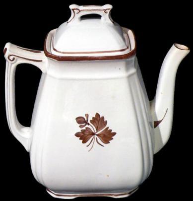Alfred Meakin - Fishhook - Tea Leaf - Teapot