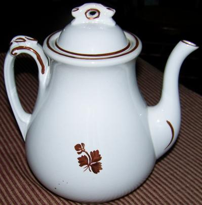 Alfred Meakin - Scroll - Tea Leaf - Teapot