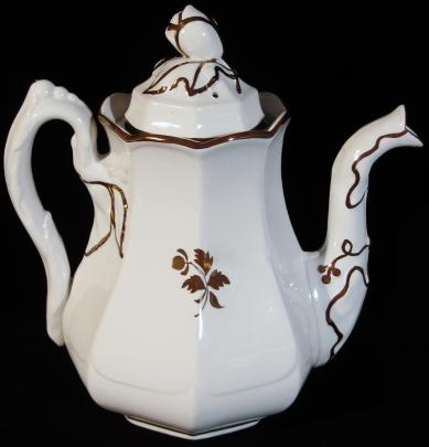 Anthony Shaw  - Chinese Shape - Tea Leaf - Teapot