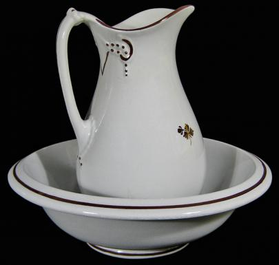 Anthony Shaw - Cable - Tea Leaf - Ewer and Basin