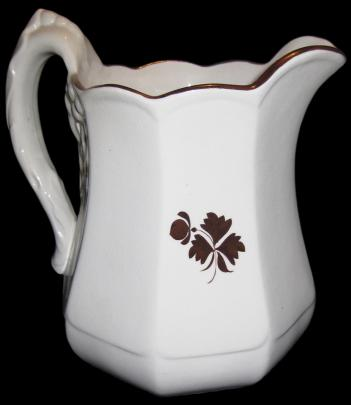 Anthony Shaw - Chinese Shape -  Tea Leaf  - Pitcher