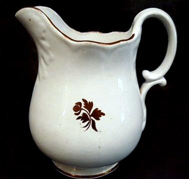 Anthony Shaw - DeSoto Shape - Tea Leaf - Pitcher