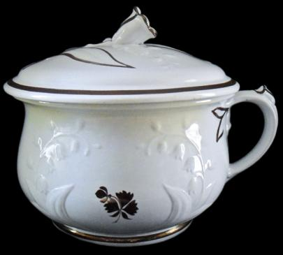 Anthony Shaw - Lily-of-the-Valley - Tea Leaf - Chamber Pot