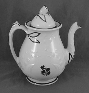 Anthony Shaw - Lily-of-the-Valley - Tea Leaf - Teapot