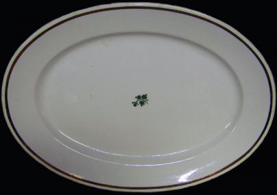 Anthony Shaw - Plain Round - Tea Leaf - Platter