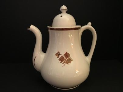 Anthony Shaw - Plain Uplift - Tea Leaf - Teapot