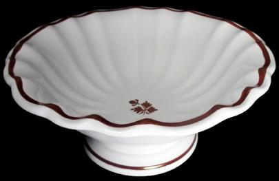 Anthony Shaw - Scalloped Rim - Tea Leaf - Apple Bowl (scalloped) 1