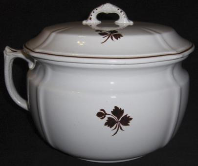 Anthony Shaw - Shield - Tea Leaf - Chamber Pot