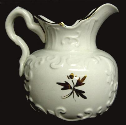 Attributed to Glasgow Pottery, John Moses, Trenton, NJ - Trilby - TL - pitcher