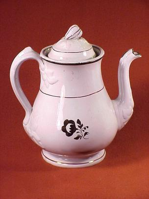 Baker - Draped Leaf - Morning Glory - Teapot