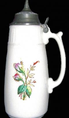 Bennett - Unknown - Moss Rose - Syrup Pitcher
