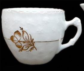 Bridgwood and Sons - Quilted Forget-Me-Not - Cloverleaf - Cup