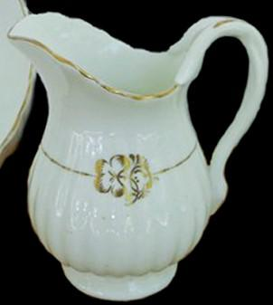 Bridgwood and Sons - Full Ribbed - Clover Leaf - Creamer