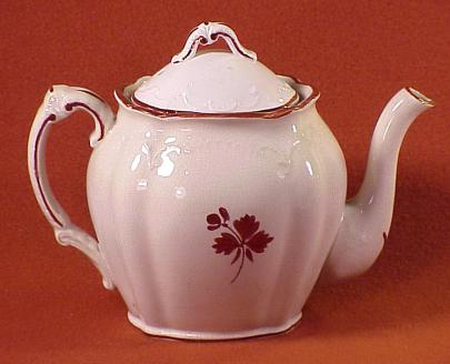 Burgess - Embroidered Chelsea - Tea Leaf - Teapot