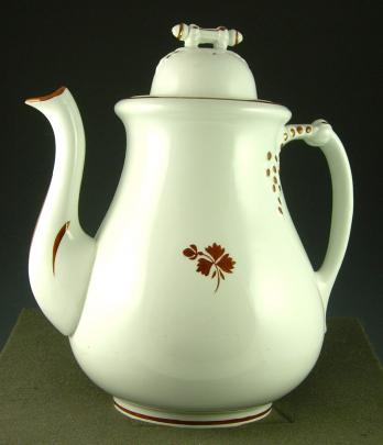 Burgess - Cable - Tea Leaf - Teapot