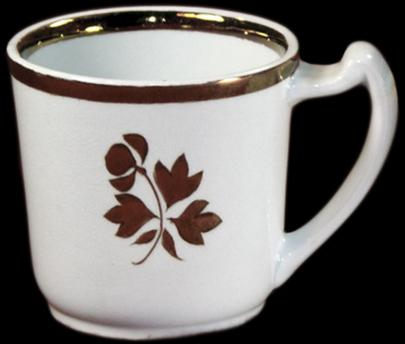 Burgess - Plain Round - Tea Leaf - Mug