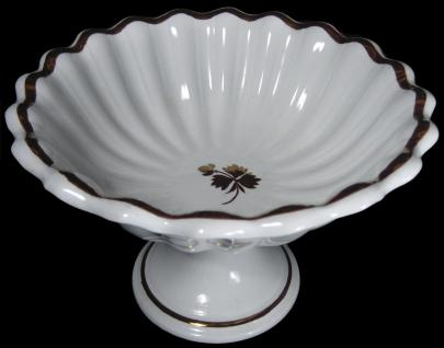 Burgess - Scalloped Rim - Tea Leaf - Apple Bowl (scalloped)