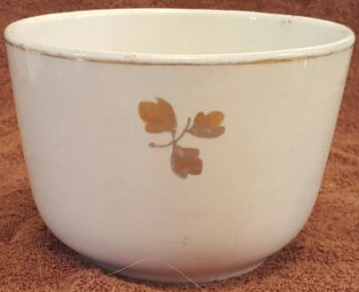 Cartwright - Plain Round - Tea Leaf - Bowl (Waste) - 4 in. tall, 6 in. dia_