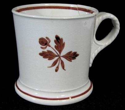 Challinor - Cable - Tea Leaf - Shaving Mug