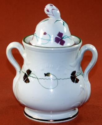 Cochran - Hyacinth - Pre-Tea Leaf - Sugar Bowl