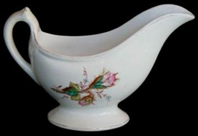 D and D - Cable - Moss Rose - Gravy Boat