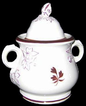 William Davenport - Fig Cousin - Tea Leaf - Sugar Bowl