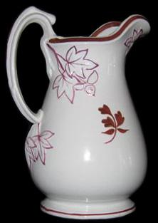 William Davenport - Fig Cousin - Tea Leaf - Ewer