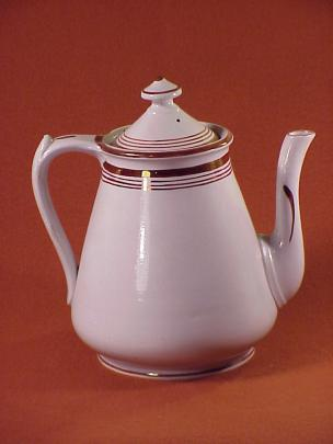 William Davenport - Rondeau - Lustre Band - Teapot