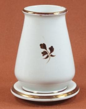 William Davenport - Rondeau - Tea Leaf - Brush vase & tray