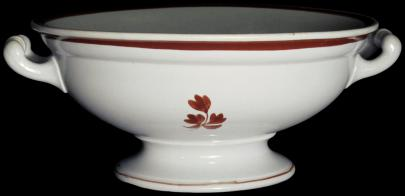 William Davenport - Rondeau - Tea Leaf - Compote - Oval