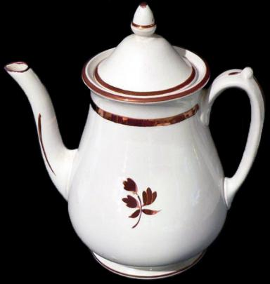 William Davenport - Rondeau - Tea Leaf - Teapot