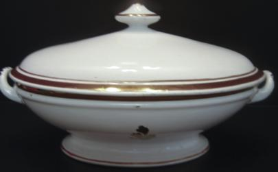 Davenport - Rondeau - Tea Leaf - Vegetable Tureen