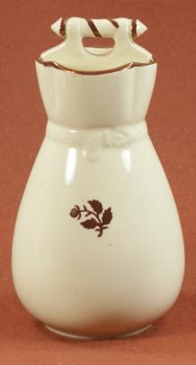 Edge Malkin - Argyle - Tea Leaf - Brush Vase