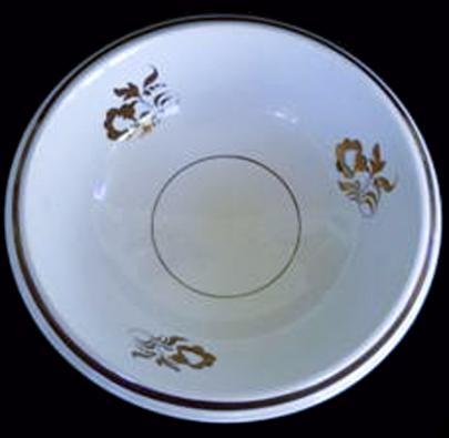 Elsmore and Forster - Crystal Shape - Morning Glory - Basin / Wash Bowl