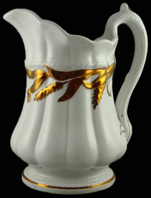 Elsmore and Forster - Ceres Shape - Lustre Band - Creamer
