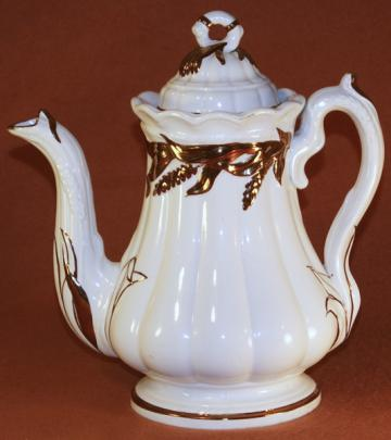 Elsmore and Forster - Ceres Shape - Lustre Band - Coffee Pot