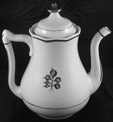 Elsmore and Forster - Crystal Shape - Pepperleaf - Teapot