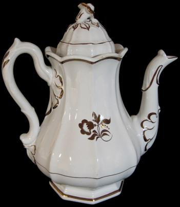 Elsmore and Forster - Portland Shape - Morning Glory - Coffee Pot