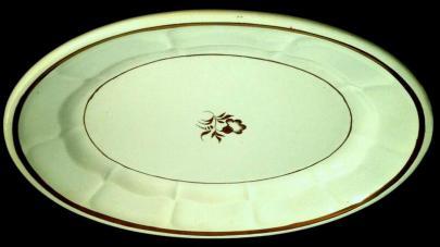 Elsmore and Forster - Portland Shape - Morning Glory - Platter