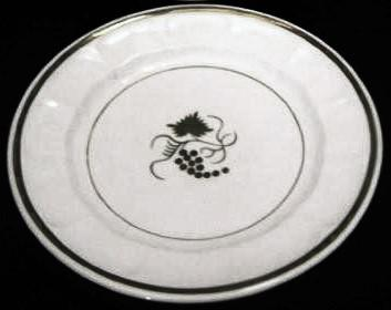 Elsmore and Forster - Portland Shape - Reverse Teaberry - Plate