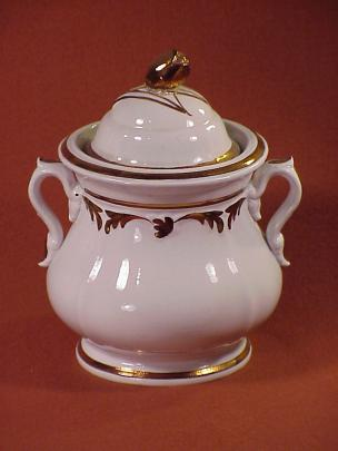 Elsmore and Forster - Tulip Shape - Lustre Band - Sugar Bowl
