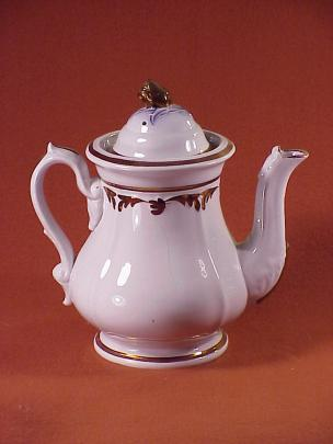 Elsmore and Forster - Tulip Shape - Lustre Band - Teapot