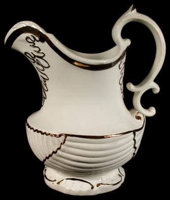 Enoch Wood -  Seashell - Lustre Band - Pitcher