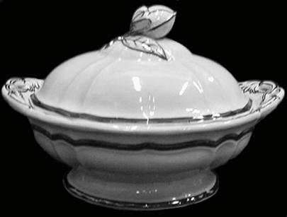 Farrall - Dangling Tulips - LB - Vegetable Tureen