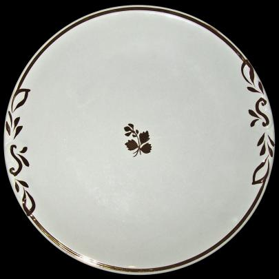 Thomas Furnival - Unknown - Tea Leaf - Cake Plate