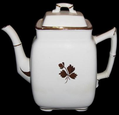 Grindley - Bamboo - Tea Leaf - Teapot